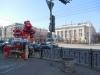 Точка продажи валентинок на углу Б.Садовой и Буденновского.