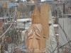 Памятник в виде армянской церкви.