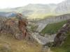 Вид на Малку, ущелье Кара-Кулак и палаточный лагерь