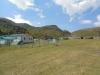 Альплагеря и база МЧС на поляне Эммануэля.