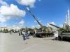 Военная техника на выставке в честь Дня Победы