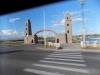 Виды из окна автобуса в пути по Грозному