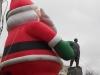 Дедушка Ленин в лапах Дедушки Мороза