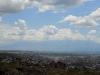 Панорама на Ереван. Арарат закрыт облаками