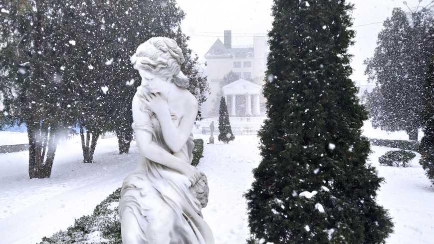 Долгожданный снег в Ростове. Январь 2021