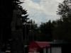 На заднем плане проглядывается гора Арагац.