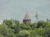 Вид на купол Церкви Святой Богородицы от монумента