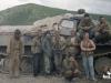 Июль 1999 г. Наш загруженный ГТТ перед выездом на очередной участок разведки. Я стою третий слева.