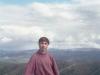 Июль 1999 г. Я собственной персоной на вершине Бургагчана. Высота 1063 м над уровнем моря.