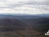Август 1999 г. Вид с сопки. Внизу склона сопки в середине кадра наш лагерь.