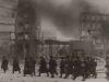 Немецкие войска на улицах разрушенного Ростова.