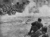 Гитлеровская артиллерия в районе Комсомольской площади