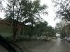 На улицах во время бури.